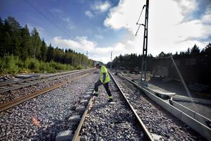 Stefan Sunnesjö projektledare på trafikverket om banbygget mellan Sandviken och Storvik