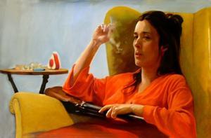 """""""Tiduret"""" av Karin Broos."""