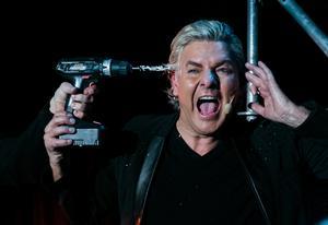 Joe Laberos show In Flames. Foto: Mattias Johansson