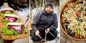 Glöm smörgåsarna – Daniel Jernkrook tipsar om tre rätter som tar utflyktsmaten till högre höjder.