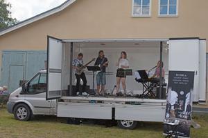 Bandet The state of four uppträde på lördagen.