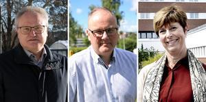 Undertecknarna, som företräder majoriteten i Region Västernorrland: Glenn Nordlund (S), Per Wahlberg (M) och Ingeborg Wiksten (L).