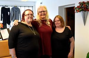 Erica Jobs, Regina Jobs Axelsson och Maria Lindeborg. Tre fjärdedelar av Team Jobs. Malin Nyström saknas på bilden.