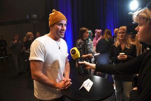 Martin Stenmarck vid en tidigare pressträff inför årets Mello. Foto: Fredrik Sandberg