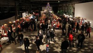 Tomtemarknaden hölls i Verket för 14:e gången.