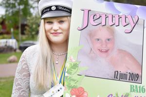 Jenny Wikström har studerat på bygg- och anläggningsprogrammet och nu väntar arbete.