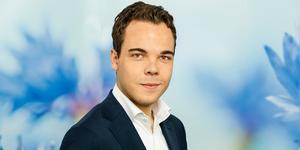 Nicholas Nikander (L) är ordförande för Liberalerna och ordförande för kommunfullmäktige i Nynäshamn. Foto: Liberalerna