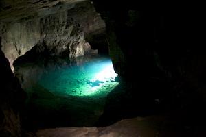 Arkivbild: Claes Söderberg.I gruvan i Tuna-Hästberg bedrivs guidningar för besökare i torrlagd miljö, men även dykning i den vattenfyllda delen av gruvan enligt deras hemsida.