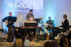 En del av kvällens musikaliska utbud. Foto: Heli Berg.