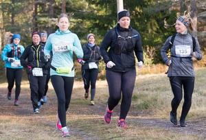 Linnea Solander (140), Lina Nilsson och Sandra Bergman Bylund (135).