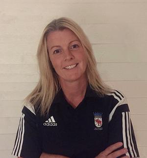 Eva Westin på Gestriklands Fotbollförbund är ansvarig för inspirationsträffen för kvinnliga fotbollsdomare. FOTO: Gestriklands FF