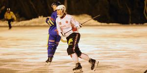 Elva mål på fem matcher har det blivit för Granberg under vintern.