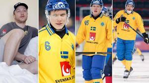 Johan Löfstedt, Daniel Berlin, Erik Pettersson och Joakim Andersson. Foto: Johan Solum / Rikard Bäckman