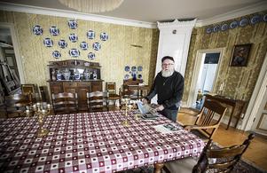 Salen på nedervåning användes i första hand som matrum.