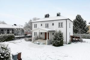 Denna sexrumsvilla på Hagalund i Borlänge kom på tionde plats på Dalarnas egen Klicktoppen för förra veckan. Foto: Patrik Persson/Svensk Fastighetsförmedling