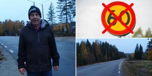 Den 400 meter långa sträckan i Myckelgensjö kommer även i fortsättningen vara en 80-väg.