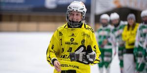 VSK:s målvakt Sara Carlström med utsedd till finalens bästa spelare.