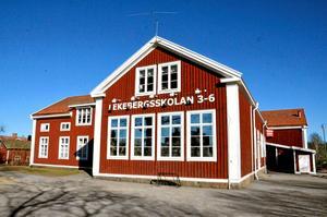 Lekebergsskolan 3-6 ska rivas och ersätta med en suterrängbyggnad.Foto: Peter Eriksson/Arkiv
