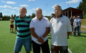 Leif Nygren, Ove Backlund och Bengt-Åke