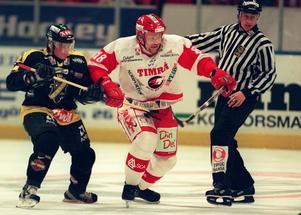 Timo Peltooma i match mot AIK i oktober 2000. Bild: Björn Tilly/Bildbyrån.