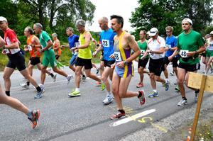 Den 16 juli är det Sixtorpsloppet. Bilden är från ett tidigare Viby Marathon.