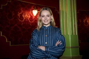 Frida Gustavsson har lagt sin framgångsrika modellkarriär på hyllan och långfilmsdebuterar nu i