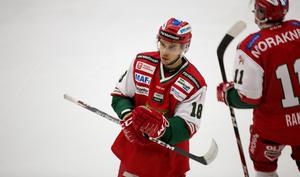 Mattias Nörstebö gjorde Moras reducering till 3–4.