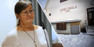 Antalet barn är för litet för att göra det ekonomiskt försvarbart att behålla skoverksamheten i Hybo, anser Carina Bryngelsson, tf utbildningschef i Ljusdal.