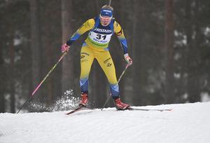 Felicia Lindqvist har fått sitt internationella genombrott. Det kom i österrikiska Obertilliach, där hon på fredagen vann en supersprint i IBU Cup.