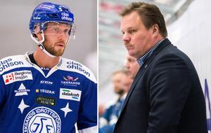 Linus Persson och Leif Carlsson. Foto: Bildbyrån.