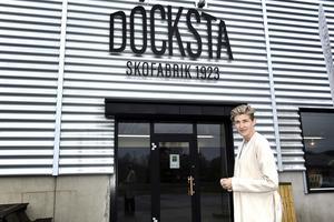 Lisa Edin, vd och ägare till Docksta Sko.