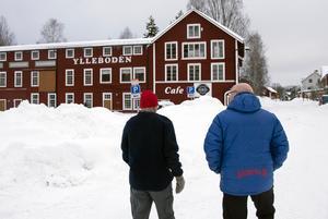 Trots butiksdöden i Sågmyra finns det krafter som bjuder motstånd till den negativa utvecklingen. Ylleboden är ett exempel på entreprenörskap i den gamla bruksorten.