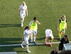 Lite bistra miner när SDFF-spelarna lämnade planen, men totalt sett var de nöjda med premiären, trots 3–1-förlust borta mot Kif Örebro.