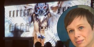 Sofia Lekare kom med idén – nu hoppas hon på stor uppslutning när Palladiums fasad hamnar i fokus.