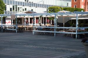 Säsong Sommar, krog som legat på Melkertorget senaste två somrarna men nu köps upp av Allstar. Bild: Fabian Zeidlitz