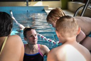 Sara Jacobsseon driver simskolan i Funäsdalen sedan flera år tillbaka. Med hjälp av ett EU-stöd från Leader har hon kunnat bland annat kunna skicka personal på vidareutbildning. Foto: Privat