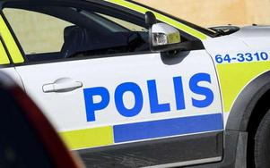 Polisen gjorde husrannsakan i den åtalade Borlängebons bostad och hittade då både narkotika och ammunition. Bild: Johan Nilsson/TT