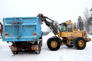 Rekordmycket snö har fallit under vintern.