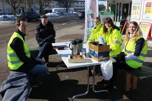 Kommunen fanns tidigare i år på plats i Östervåla för att ta emot synpunkter, då var även polisen närvarande.