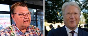 Peter Lundgren (SD) och Lars Adaktusson (KD). Foto: TT