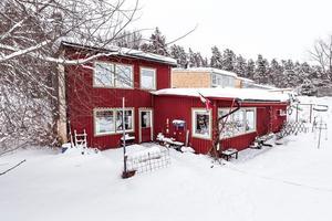 5 297 klick för denna villa på Ryttarvägen i Falu kommun innebar en femteplats på Klicktoppen. Foto: Kristofer Skog/Husfoto