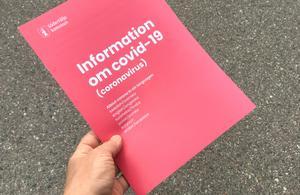 Södertälje kommuns informationsblad om covid-19 och coronaviruset finns på många olika språk.