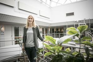 Åsa Lindqvist är en av de som tar fram namnen på Östersunds nya gator.