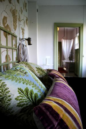 Det som i dag är sovrum var tidigare handelsträdgård.