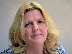 Ingrid Holmgren, socialchef i Hällefors kommun.