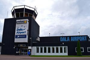 Dala Airport har utrikescharter till Kanarieöarna, Mallorca, Rhodos och Kreta.
