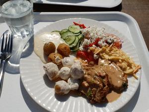 Dag två blir det fläskkarré och potatis – bland mycket annat.