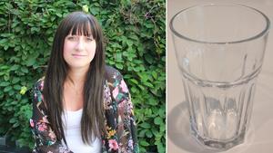 Ida Wallsten köpte flera glas av modellen