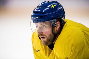 Linus Omark är nöjd med att Tre Kronor har sex poäng och noll insläppta mål hittills under OS. Foto: Petter Arvidson / BILDBYRÅN.