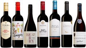 Sju goda och väl prisvärda nya röda vinalternativ att testa från Systembolagets hyllor. Samtliga lanserades 1 juni.